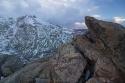 Invierno en el Cabeza nevada